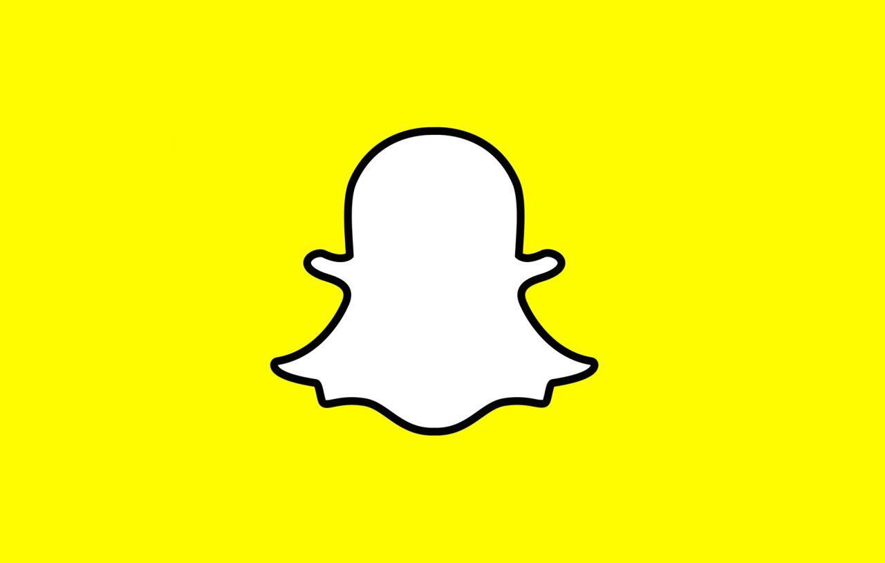 Snapchat logo social media