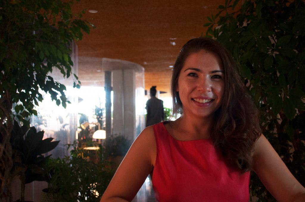 Sophia Matveeva interviewing for Startup Stories
