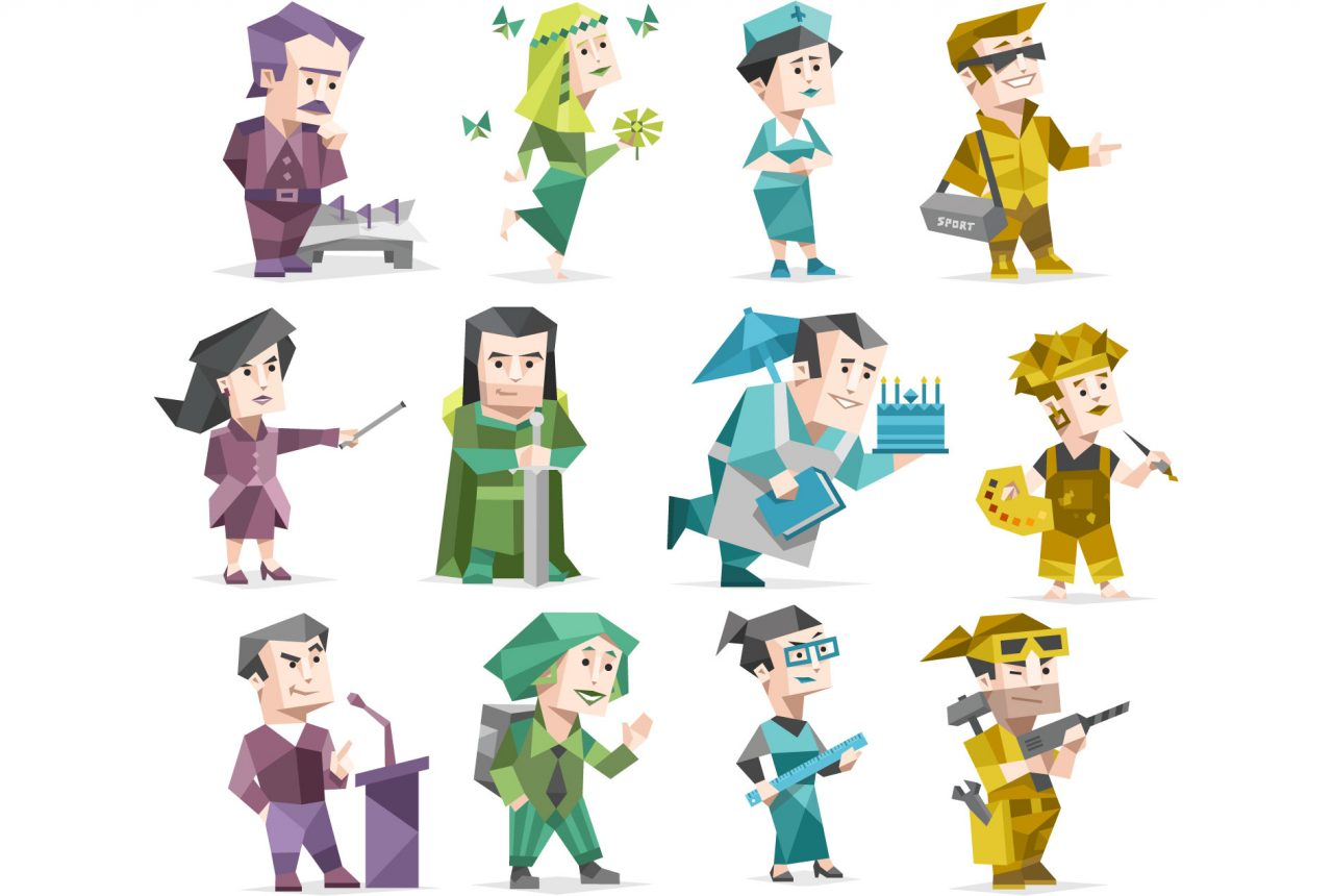 personality test characters